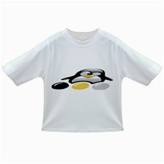 LINUX TUX PENGION AND EGGS Baby T-shirt