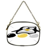 LINUX TUX PENGION AND EGGS Chain Purse (Two Sided)  Back