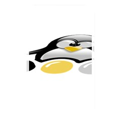 LINUX TUX PENGION AND EGGS Memory Card Reader (Rectangular)