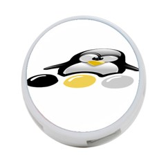 LINUX TUX PENGION AND EGGS 4-Port USB Hub (Two Sides)