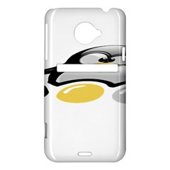 LINUX TUX PENGION AND EGGS HTC Evo 4G LTE Hardshell Case