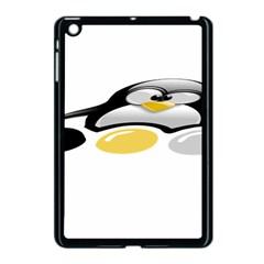 LINUX TUX PENGION AND EGGS Apple iPad Mini Case (Black)