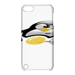 LINUX TUX PENGION AND EGGS Apple iPod Touch 5 Hardshell Case with Stand
