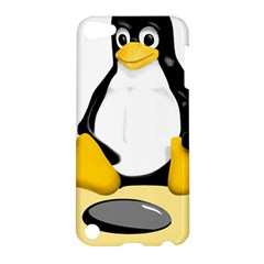 Linux Black Side Up Egg Apple Ipod Touch 5 Hardshell Case