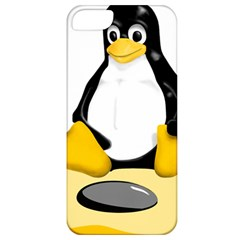 linux black side up egg Apple iPhone 5 Classic Hardshell Case