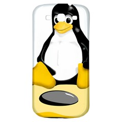 linux black side up egg Samsung Galaxy S3 S III Classic Hardshell Back Case
