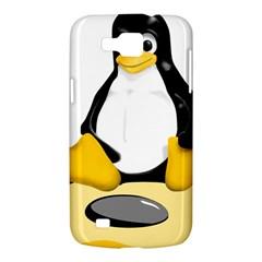 linux black side up egg Samsung Galaxy Premier I9260 Hardshell Case