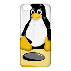 linux black side up egg Apple iPhone 5C Hardshell Case
