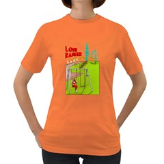 Lone ranger Womens' T-shirt (Colored)