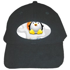 Linux Versions Black Baseball Cap