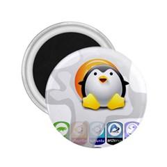 LINUX VERSIONS 2.25  Button Magnet