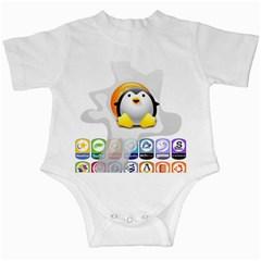 LINUX VERSIONS Infant Bodysuit