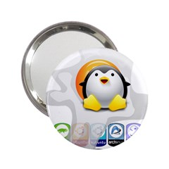 LINUX VERSIONS Handbag Mirror (2.25 )