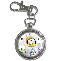 LINUX VERSIONS Key Chain & Watch
