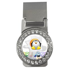 Linux Versions Money Clip (cz)