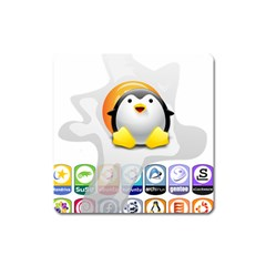 LINUX VERSIONS Magnet (Square)