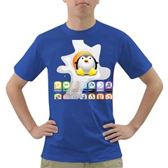LINUX VERSIONS Mens' T-shirt (Colored)