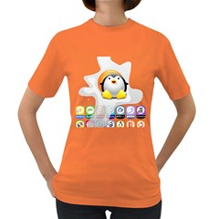 Linux Versions Womens' T Shirt (colored)