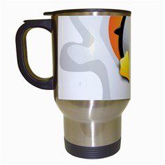 LINUX VERSIONS Travel Mug (White)