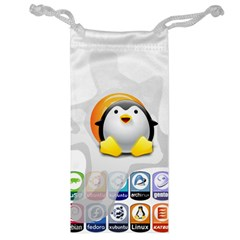 Linux Versions Jewelry Bag