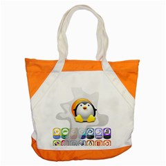 Linux Versions Accent Tote Bag