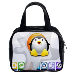 LINUX VERSIONS Classic Handbag (Two Sides)