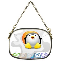 LINUX VERSIONS Chain Purse (One Side)