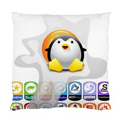 LINUX VERSIONS Cushion Case (Two Sided)