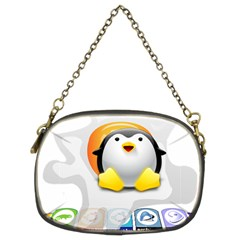 LINUX VERSIONS Chain Purse (Two Sided)