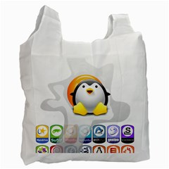 LINUX VERSIONS Recycle Bag (Two Sides)