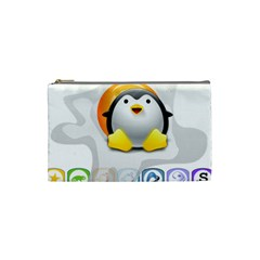 Linux Versions Cosmetic Bag (small)