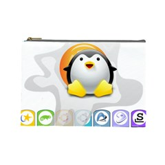 LINUX VERSIONS Cosmetic Bag (Large)