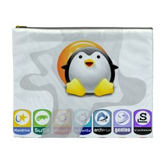 LINUX VERSIONS Cosmetic Bag (XL)