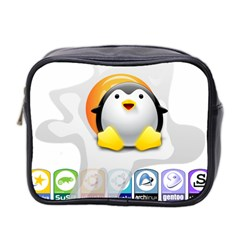 LINUX VERSIONS Mini Travel Toiletry Bag (Two Sides)