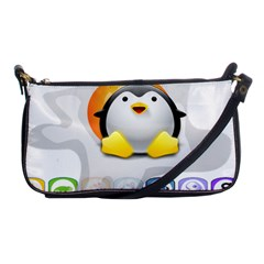 LINUX VERSIONS Evening Bag