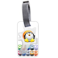 LINUX VERSIONS Luggage Tag (One Side)