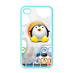 Linux Versions Apple Iphone 4 Case (color)