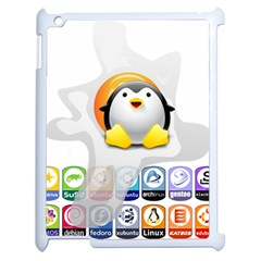 Linux Versions Apple Ipad 2 Case (white)