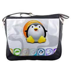 LINUX VERSIONS Messenger Bag