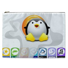 LINUX VERSIONS Cosmetic Bag (XXL)
