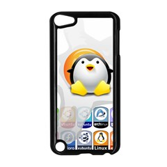 LINUX VERSIONS Apple iPod Touch 5 Case (Black)