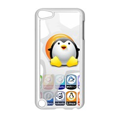 LINUX VERSIONS Apple iPod Touch 5 Case (White)