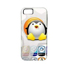 LINUX VERSIONS Apple iPhone 5 Classic Hardshell Case (PC+Silicone)