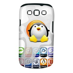 LINUX VERSIONS Samsung Galaxy S III Classic Hardshell Case (PC+Silicone)