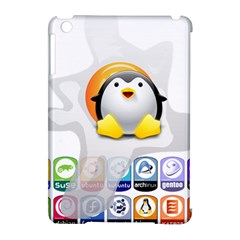 Linux Versions Apple Ipad Mini Hardshell Case (compatible With Smart Cover)