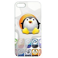 LINUX VERSIONS Apple iPhone 5 Hardshell Case with Stand