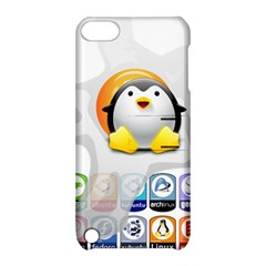 LINUX VERSIONS Apple iPod Touch 5 Hardshell Case with Stand