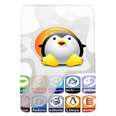 LINUX VERSIONS Removable Flap Cover (Small)