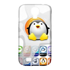 Linux Versions Samsung Galaxy S4 Classic Hardshell Case (pc+silicone)
