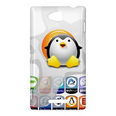 LINUX VERSIONS Sony Xperia C (S39h) Hardshell Case